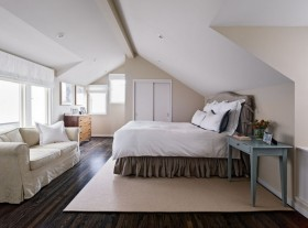 现代简约主卧室装修效果图大全2012图片