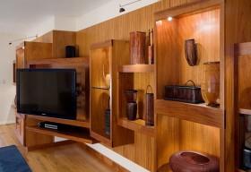 木质电视储物柜图片