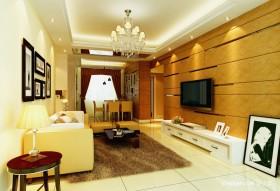 现代风格客厅装修效果图 客厅背景墙装修效果图
