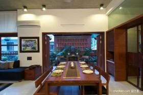 东南亚风格别墅餐厅装修效果图