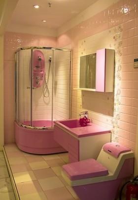 最新简约小卫生间洗手台装修效果图片