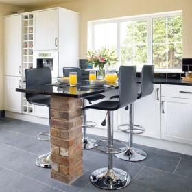 家装开放式厨房吧台效果图片