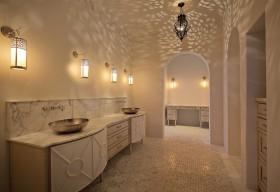 别墅卫生间洗脸盆柜组合效果图片