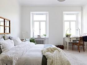 欧式卧室装修效果图大全 卧室飘窗图片