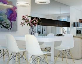 现代风格小餐厅装修效果图