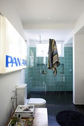 卫生间装修图片 蓝色瓷砖卫生间设计效果图
