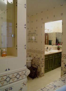 洗手间装修效果图 卫生间隔断效果图