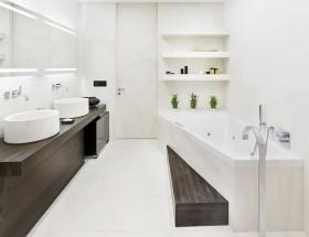 卫生间装修效果图大全2012图片 简约风格卫生间装修效果图
