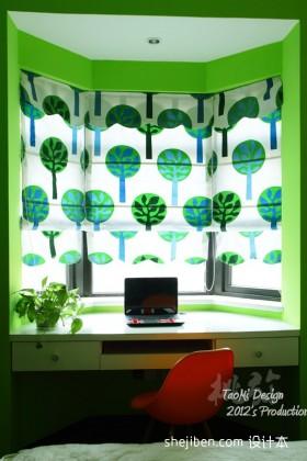 最新飘窗改书房装修效果图