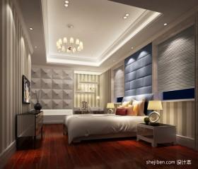 欧式别墅卧室装修效果图  别墅卧室装修效果图大全2012图片