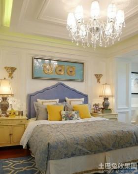 混搭风格卧室装修效果图欣赏