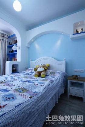地中海卧室装修效果图欣赏