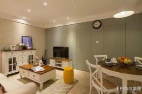 60平米小两房装修客厅效果图