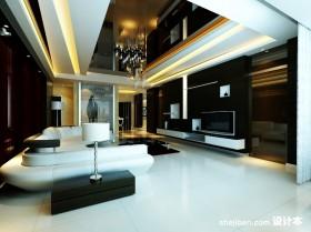 四室两厅两卫客厅装修效果图欣赏