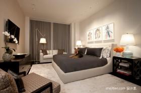 现代简约复式家居卧室装修设计