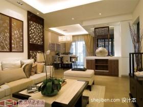 中式客厅装修效果图大全2012图片 现代中式装修