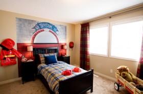 最新美式儿童卧室装修效果图大全