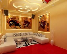 客厅吊顶效果图 客厅沙发背景墙效果图