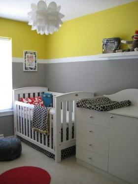简约婴儿房装修效果图欣赏