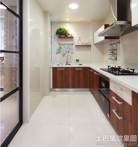 简约式家装厨房装修效果图欣赏