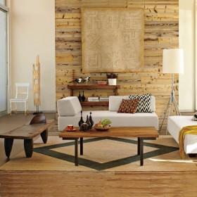 客厅装修效果图欣赏 原木客厅装修效果图