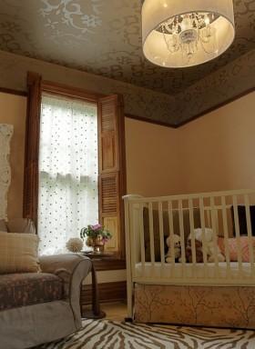 婴儿房装修效果图大全 儿童卧室吊顶装修效果图