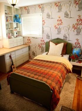 儿童房装修图片 儿童卧室背景墙装修效果图