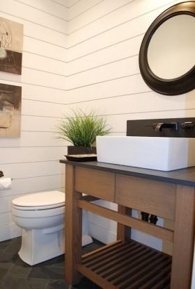 现代卫生间装修效果图大全 厕所装修效果图