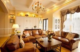 欧式客厅吊顶效果图片大全