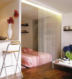 简约风格卧室装修效果图大全 卧室隔断装修图片