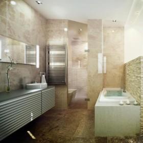 卫生间装修效果图大全2012图片  美式卫生间装修效果图欣赏