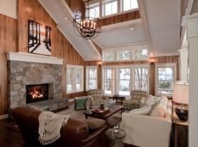 客厅装修效果图 欧式客厅吊顶效果图