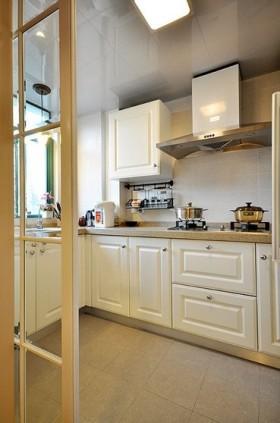 欧式风格厨房橱柜装修效果图大全2016图片