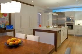 现代简约开放式整体厨房装修效果图大全