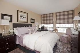 卧室窗帘图片设计  卧室窗帘效果图大全