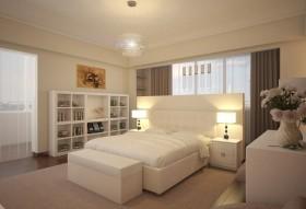 简约卧室装修效果图大全 简约卧室窗帘图片