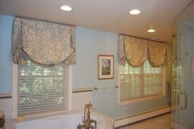 卫生间窗帘图片 窗帘布艺图片