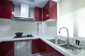 最新现代开放式小厨房装修效果图欣赏