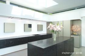 2012最新别墅装修厨房效果图