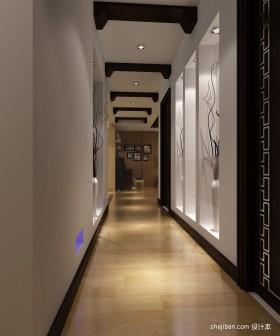 家居走廊设计效果图