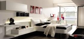 现代风格卧室装修效果图大全 现代主卧室装饰效果图