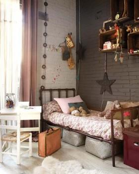 美式儿童房卧室装修效果图大全
