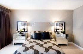 欧式简约卧室装修效果图大全 卧室窗帘图片
