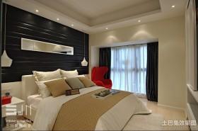 2013最新现代主卧室装修效果图