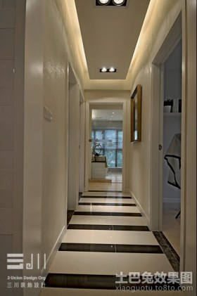 2013最新现代走廊玄关装修效果图欣赏
