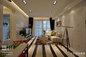 2013最新现代风格客厅装修效果图