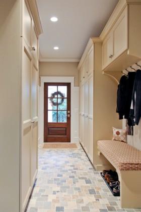 进门鞋柜玄关隔断柜