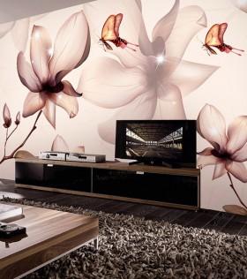 后现代风格电视背景墙设计效果图