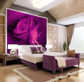 简约装修效果图大全卧室 卧室床头背景墙装修效果图