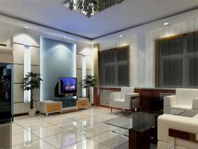 现代风格电视背景墙效果图大全图片
